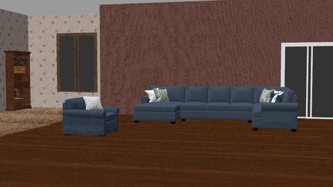 dark wood denim - Living room  - by Moonpearl