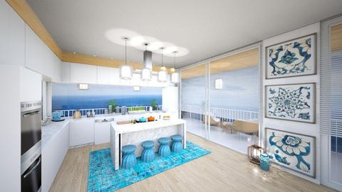 ocean 8 - Kitchen  - by nikola00211