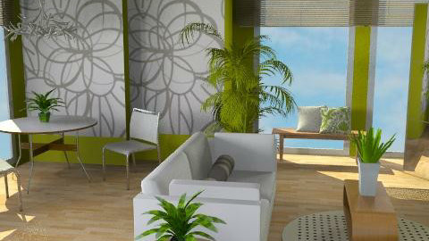 Swept Away - Eclectic - Living room  - by channing4