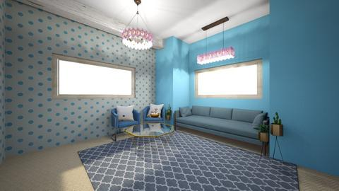 Blueberry - Living room  - by Brinley White