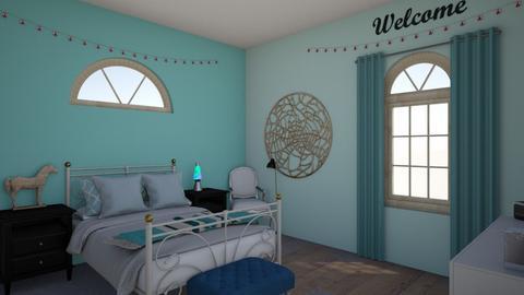 caileys room  - Feminine - Bedroom  - by lackcailey
