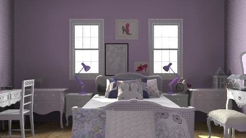 little girls bedroom - Classic - Kids room  - by emma12