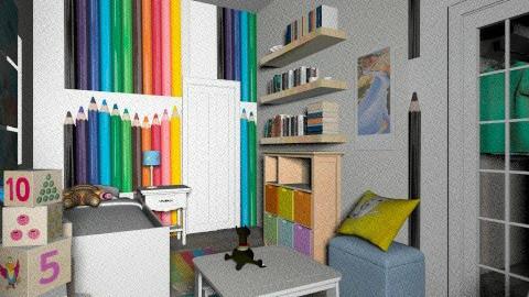 Bedrooms  - Eclectic - Bedroom  - by ketrinka