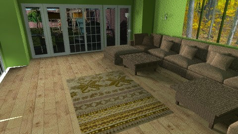 Conservatory - Living room - by sumz78