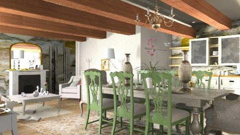 tuscan studio cottage - Rustic - by mywishlr