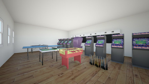 game room 2 - by Zender 758