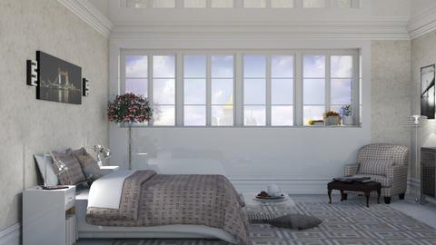 blurry bed - Bedroom  - by nat mi