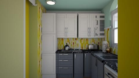 Aug 13YELLOW White - Classic - Kitchen - by Pmcgowan