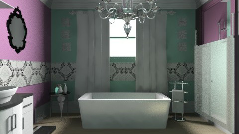 Fit for a queen - Glamour - Bathroom  - by daijahclifford
