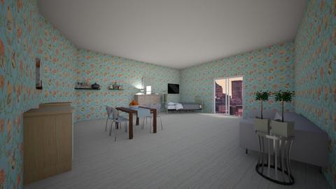 the apartement - Kitchen  - by bintia c