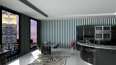 london kitchen - Modern - Kitchen - by jammytania