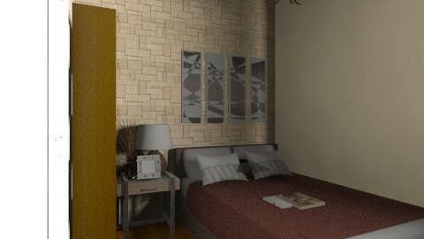 Masters bedroom - Minimal - Bedroom - by dayanaramendoza90