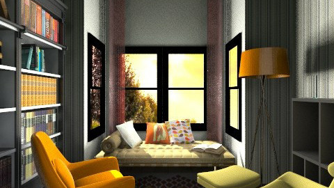 Readingroom - Living room  - by dilsah