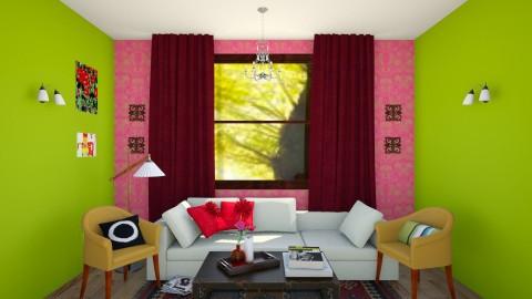 Edith Room 2 - Living room - by Tiachiel