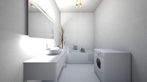 Small bathroom - Bathroom  - by Twerka