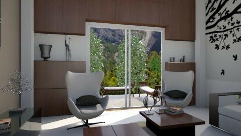 Confortar room - Retro - Living room  - by Valeska Stieg