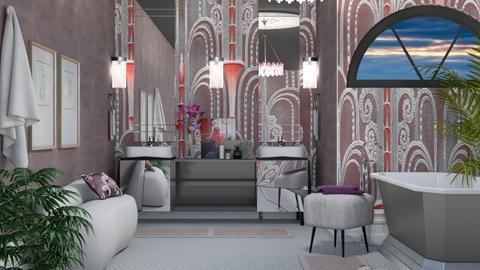 Art Deco Bathroom - by sarah4368