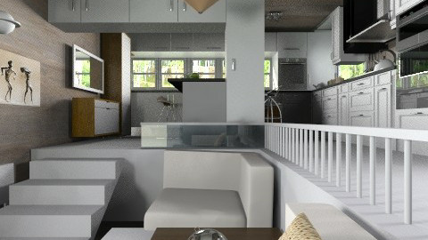 joint - Modern - Kitchen - by Leyvna