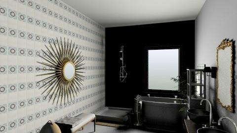 Zen - Eclectic - Bathroom  - by zezzenet