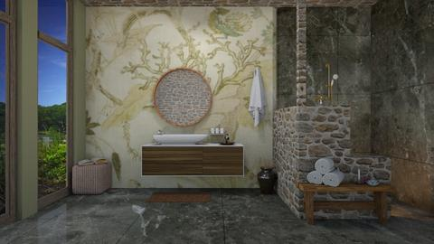 Pond Lily  - Bathroom  - by helsewhi