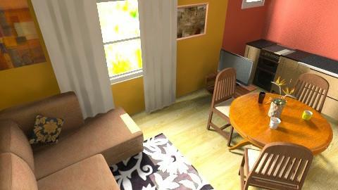 Nwe Living Room - Living room - by IamMarin94