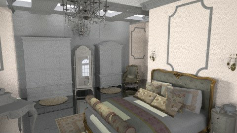 800 bedroom - Classic - Bedroom  - by annabeth