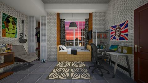 George - Bedroom - by mjabres