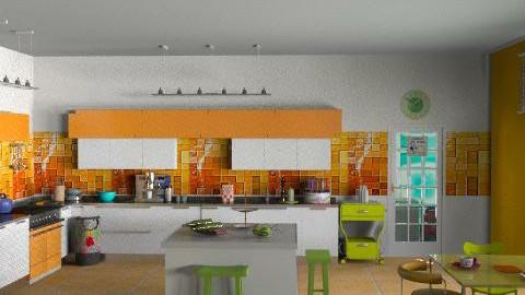 kitchen2 - Modern - Kitchen  - by aceitunilla