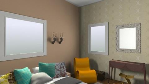 my bedroom5 - Retro - Bedroom  - by orlyme