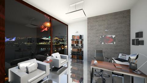 modern office - Modern - Office - by KataaRinaa8