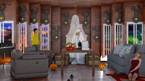halloween  - Living room  - by malithu damsath