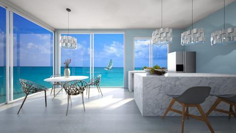 Sea Kitchen - Modern - Kitchen  - by Agamanta