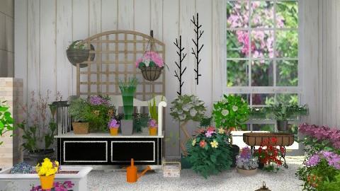 Patio-a - Country - Garden  - by milyca8