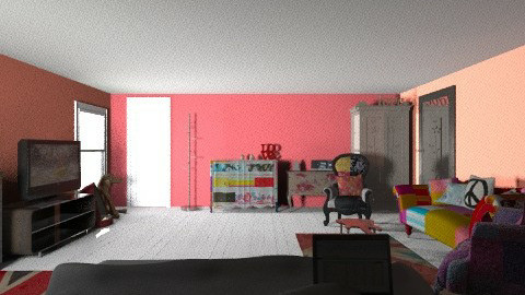 MY ROOM - Retro - Bedroom  - by imarks