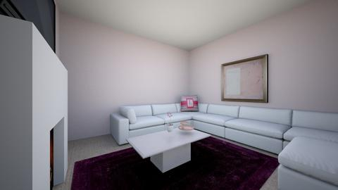 living room pink - Classic - Living room  - by kyoung506