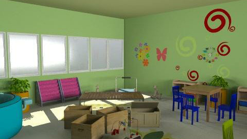 paud rusa - Country - Kids room  - by aryantono