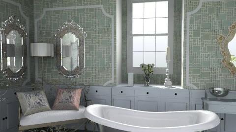 Ornate - Rustic - Bathroom - by milyca8