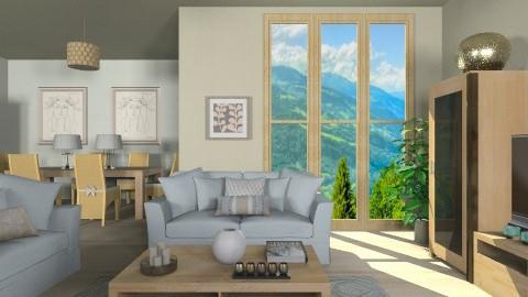 simplicity - Modern - Living room  - by vesperart