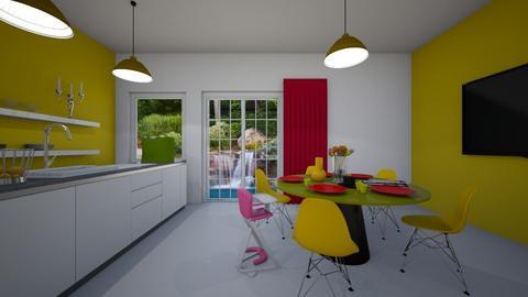 modern kitchen - Modern - by Audrey17