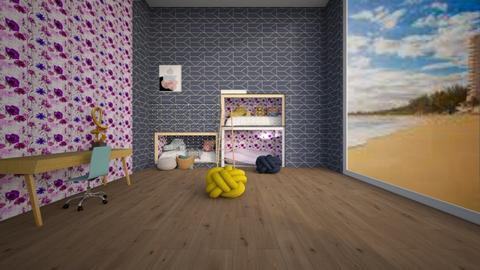 Fun BUNKS BEDS - Bedroom  - by percy_jackson_geek