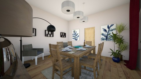 2 dining - Modern - Dining room - by hoperalab
