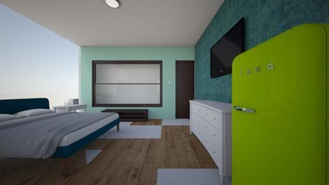 My room - Vintage - Bedroom  - by merlly