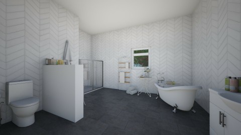classic bathroom - Classic - Bathroom  - by elisa sagie