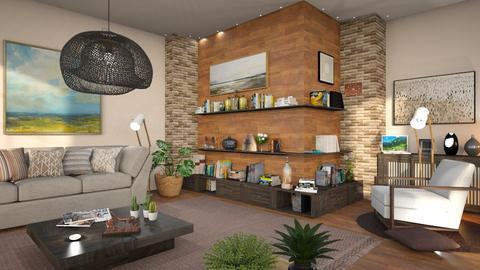 M_Books corner - Living room  - by milyca8
