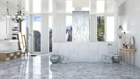 Marble Bath - Modern - Bathroom - by InteriorDesigner111