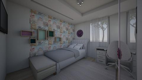 Norisz Hanna room - Modern - Kids room  - by szaboi