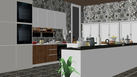 Nifty Kitchen - Kitchen - by InteriorDesigner111