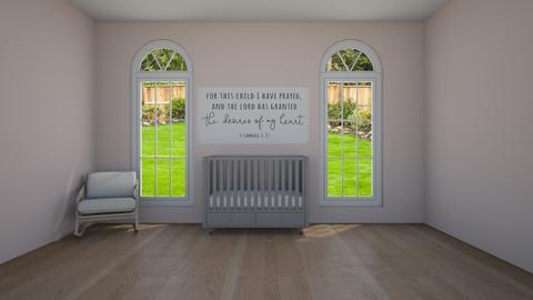 Nursery for Girl - Minimal - Kids room  - by artsy_naturelover