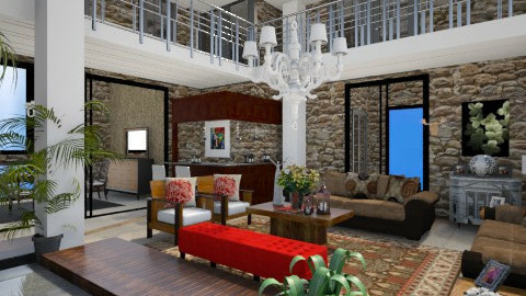 Deserto - Living room  - by Roberta Coelho