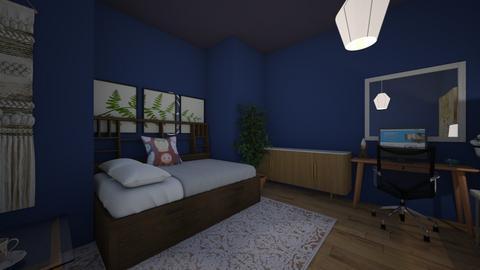 Modern Room - Modern - Bedroom  - by AnnabelleV